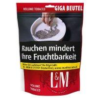 LM Volumentabak Rot 135g Giga Zip Beutel Zigarettentabak