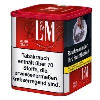 LM Volumentabak Rot 50g Dose Zigarettentabak