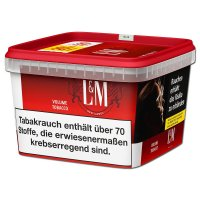 LM Volumentabak Rot Mega Box 185g Dose Zigarettentabak