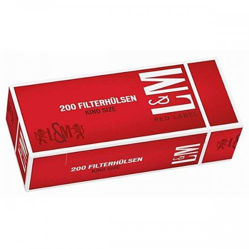 L&M Zigarettenhülsen Red Label 200 Stück