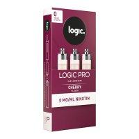 LOGIC PRO Caps Cherry Kirsch Liquid-Kapseln für E-Zigarette Logic Pro 0mg