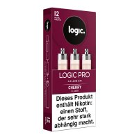 LOGIC PRO Caps Cherry Kirsch Liquid-Kapseln für E-Zigarette Logic Pro 12mg