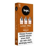 LOGIC PRO Caps Regular Liquid-Kapseln für E-Zigarette Logic Pro 12mg
