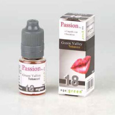 Liquid Ego Green Passion Green Valley Tobacco 18mg Nikotin