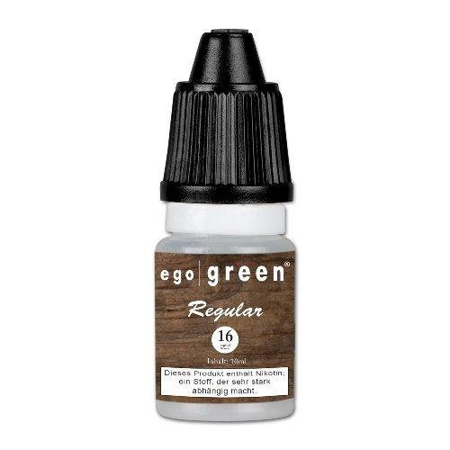 Liquid Ego-Green Regular (Tobacco) 16 mg Nikotin