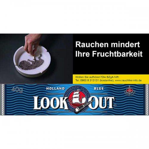 Look Out Tabak Blue Shag 40g Päckchen Feinschnitt