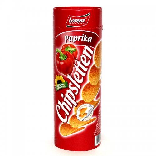 Lorenz Chipsletten Paprika 100g Dose