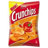 Lorenz Crunchips Hot Paprika 175g Tüte