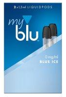 myblu Pods Blue ICE 0 mg 2er Pack