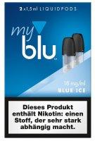 myblu Pods Blue ICE 18 mg 2er Pack