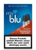 myblu Pods Bourbon Caramel 18 mg 2er Pack