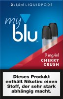 myblu Pods Cherry Crush 9 mg 2er Pack