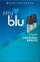 myblu Pods Coconut Breeze 0 mg 2er Pack