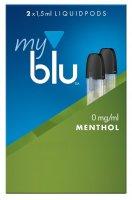 myblu Pods Menthol 0 mg 2er Pack