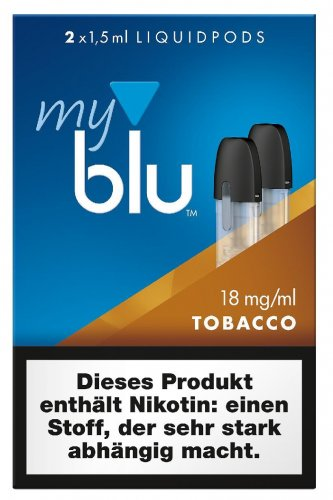 myblu Roasted Blend Tobacco Pods 18 mg