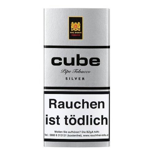 Mac Baren Pfeifentabak Cube Silver 40g Päckchen