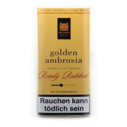 Mac Baren Pfeifentabak Golden Ambrosia 50g Päckchen