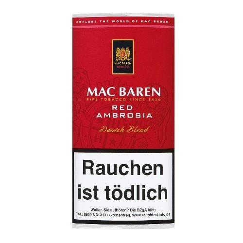 Mac Baren Pfeifentabak Red Ambrosia (Cherry) 50g Päckchen