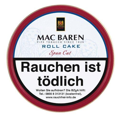Mac Baren Pfeifentabak Roll Cake 100g Dose