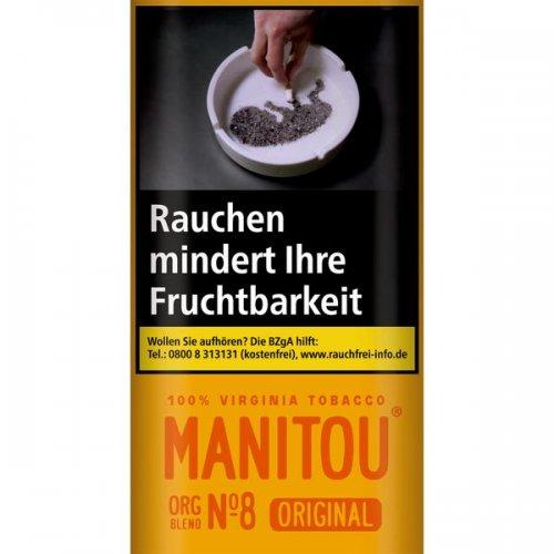 Manitou Tabak ohne Zusatzstoffe ORG Gold 30g Päckchen Feinschnitt