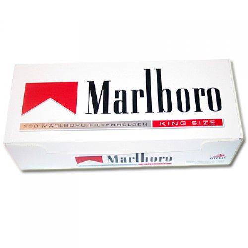 Marlboro Zigarettenhülsen Red 200 Stück