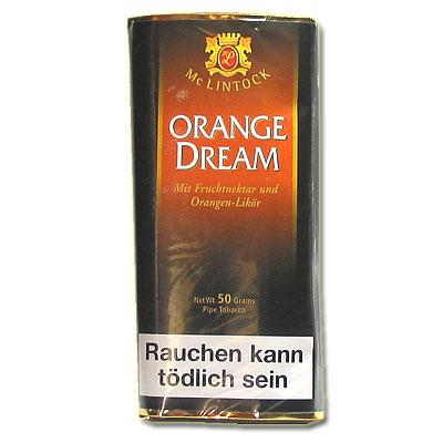 Mc Lintock Pfeifentabak Orange Dream 50g Päckchen