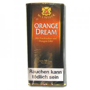 Mc Lintock Pfeifentabak Orange Dream 50g Päckchen