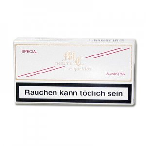 Messmer Special Cigarillos Sumatra