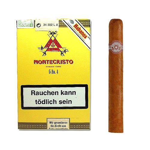 Montecristo No. 4 Zigarren 5er