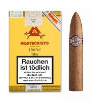 Montecristo Petit No 2 Tubos Zigarren 3 Stück