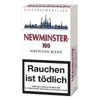 Newminster Filterzigarillos 100mm mit Naturdeckblatt 17er