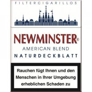 Newminster Filterzigarillos mit Naturdeckblatt 23er