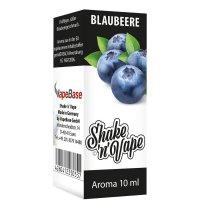 Nikoliquids Shake n Vape Aroma Blaubeere 10ml
