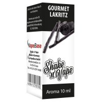 Nikoliquids Shake n Vape Aroma Gourmet Lakritz 10ml