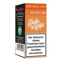 Nikoliquids Shake n Vape Grundbase 68/32 Orange 40ml B9 + 6BN für 9mg