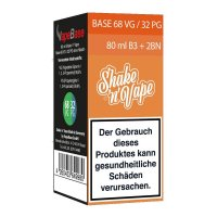 Nikoliquids Shake n Vape Grundbase 68/32 Orange 80ml B3 + 2BN für 3mg