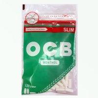 OCB Drehfilter Menthol Zigarettenfilter Slim 120 Stück