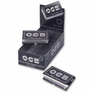OCB Schwarz Zigarettenpapier  Premium Kurz No4 1x100 Blättchen