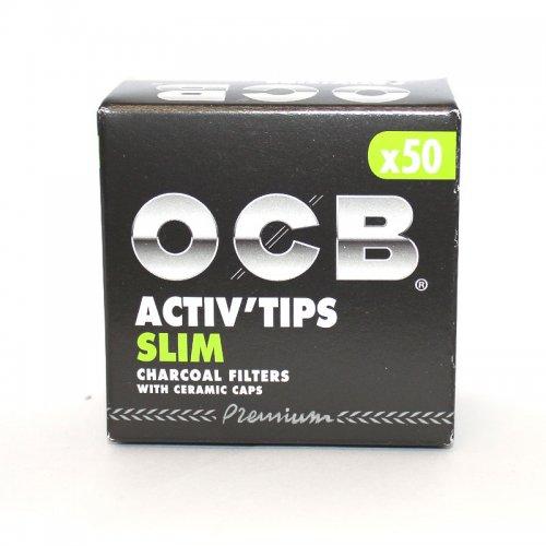OCB Slim Activ Tips 7mm