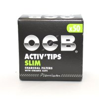 OCB Slim Activ Tips 7mm