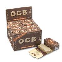 OCB Unbleached Rolls  + Tips Virgin Papers Endlospapier