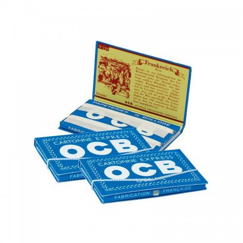 25 x 100 Blatt OCB Weiß Doppelt Kurz Nr.4 Papers Blättchen Zigarettenpapier