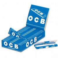 OCB Zigarettenpapier Blau kurz 1x50 Blättchen Einzelpackung
