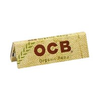 OCB Zigarettenpapier Organic Hanf 1x50 Blättchen