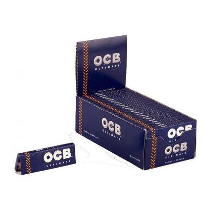 OCB Zigarettenpapier Ultimate 1x50 Blättchen