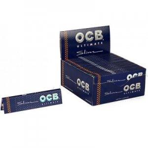 OCB Zigarettenpapier Ultimate Slim 1x32 Blättchen