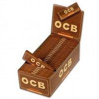 OCB Zigarettenpapier Unbleached Virgin Paper 1x50 Blättchen
