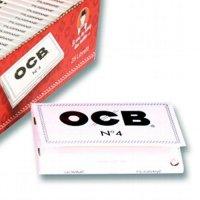 OCB Zigarettenpapier Weiß Kurz No 4 1x100 Blättchen Einzelpackung