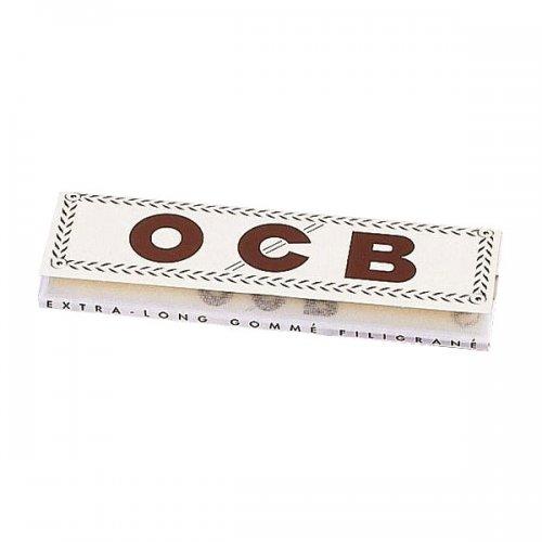 OCB Zigarettenpapier Weiß Long 1x32 Blättchen