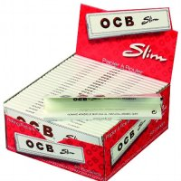 OCB Zigarettenpapier Weiß Slim Long 1x32 Blättchen